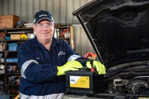 A new car Battery in Gladstone - GMW Mechanical & Towing